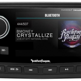 "Rockford Fosgate Punch Marine Full Function Wired 5"" TFT Display Head PMX-8DH"
