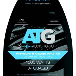 ATG8-AGU 8 Ga. Amplifier Kit